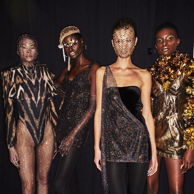 Fashion, Fashion model, Human, Leg, Fashion design, Event, Dress, Human leg, Haute couture,