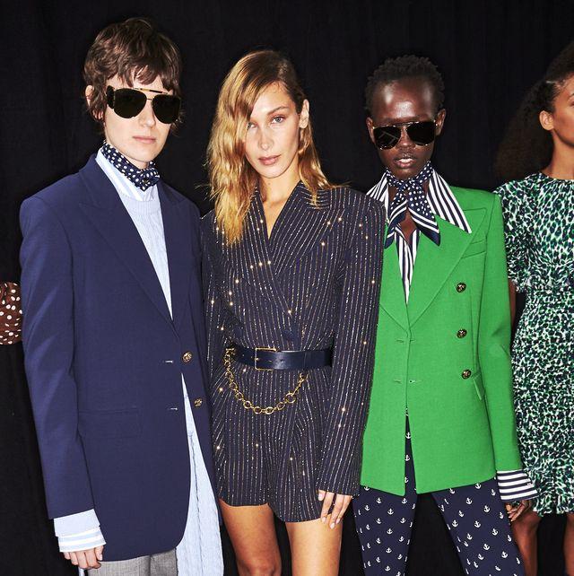Clothing, Eyewear, Suit, Fashion, Fashion model, Outerwear, Formal wear, Blazer, Event, Footwear,