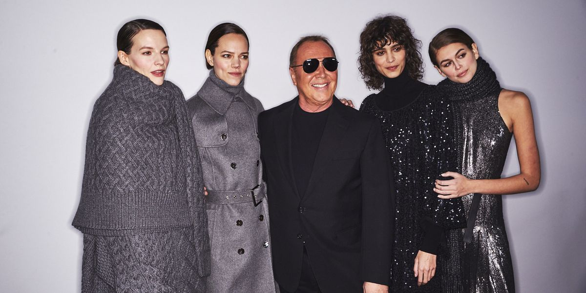Exclusive Backstage Photos from Michael Kors Fall/Winter 2020
