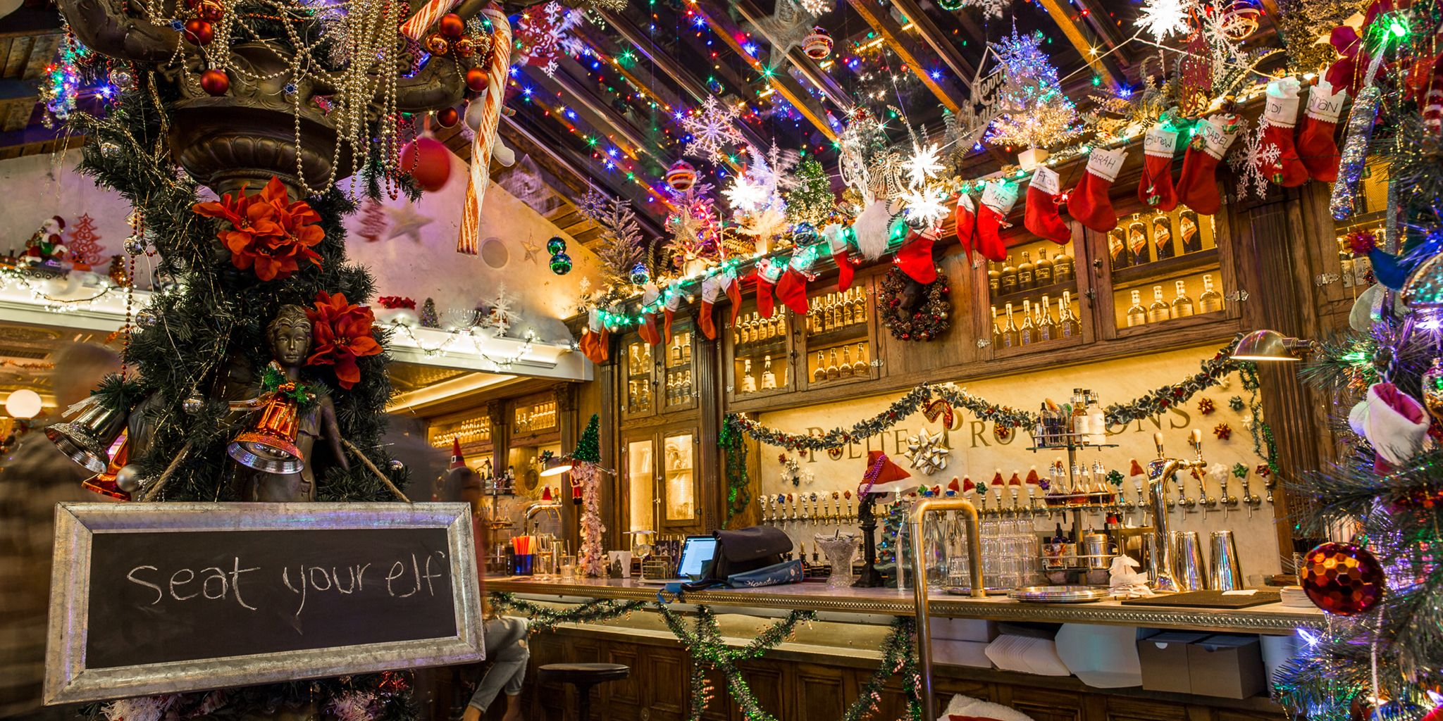 12 Best Christmas Bars in NYC - Festive Holiday-Themed Bars in New York