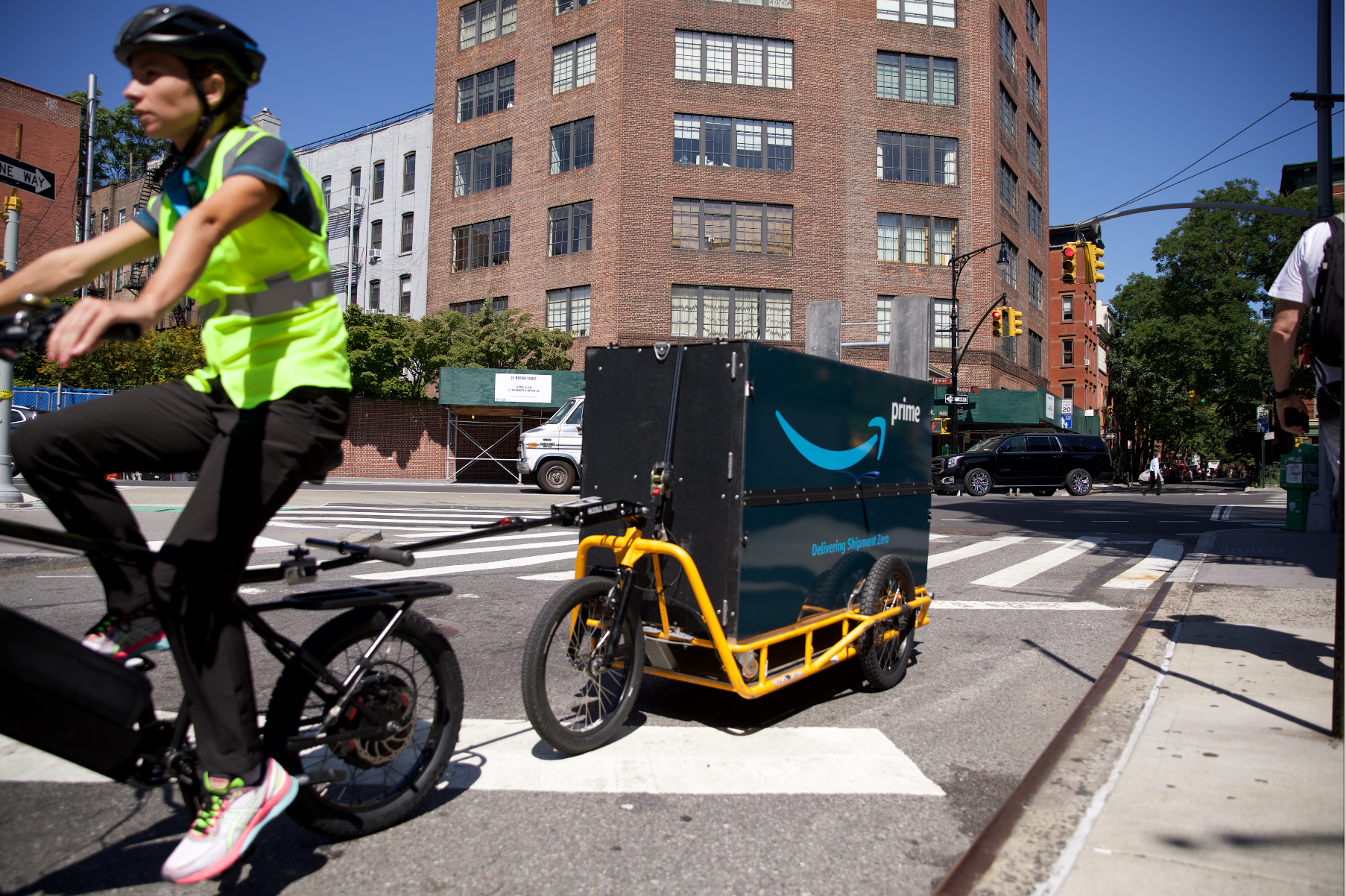 NYC Rolls Out Pilot Program for Deliveries With Cargo E