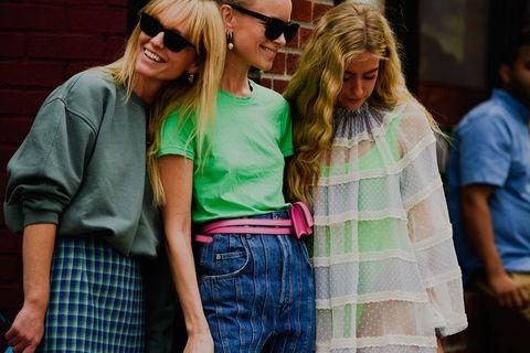 2020 春夏紐約時裝週街拍