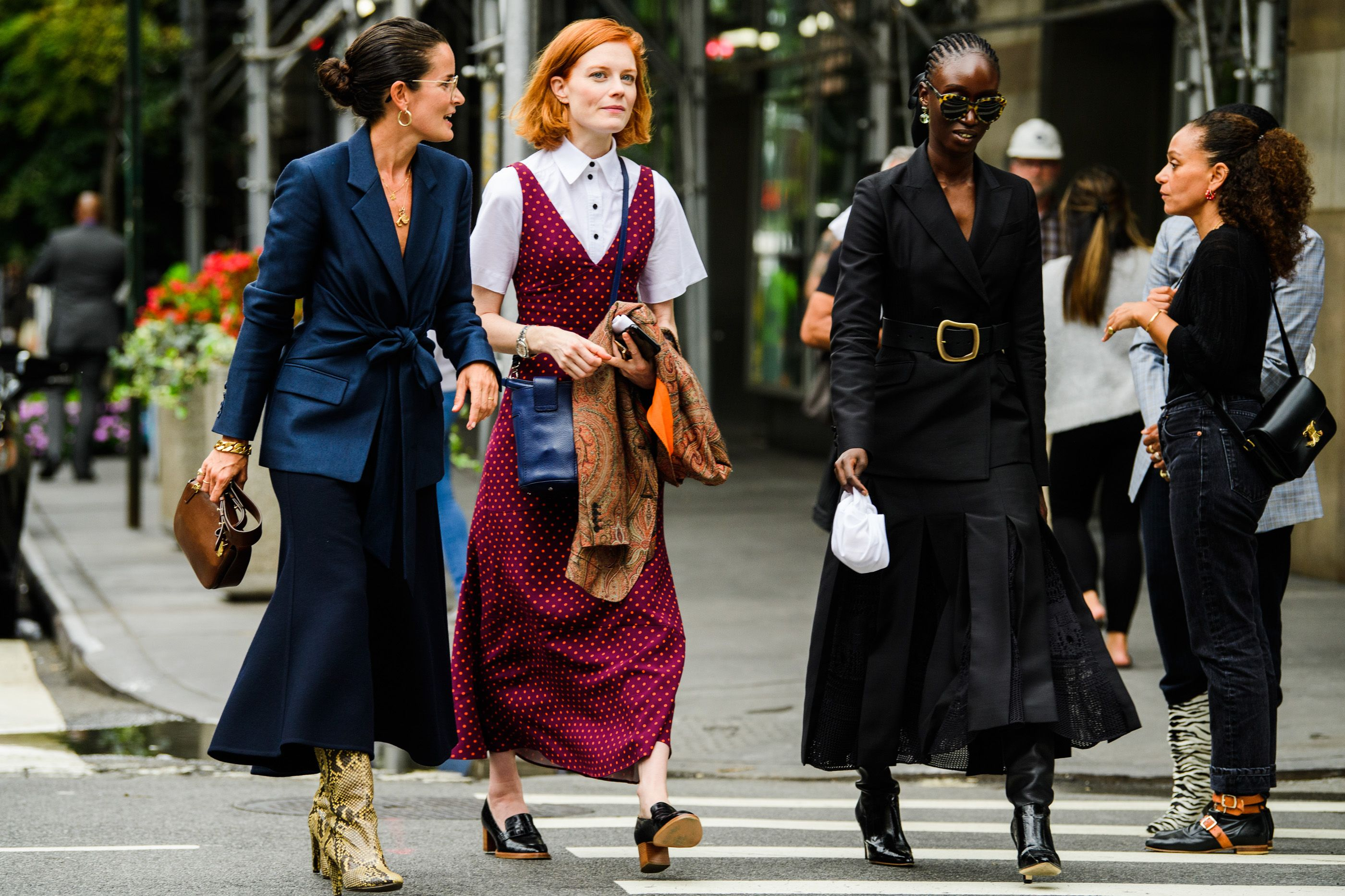 Street Style New York Fashion Week Spring 2020