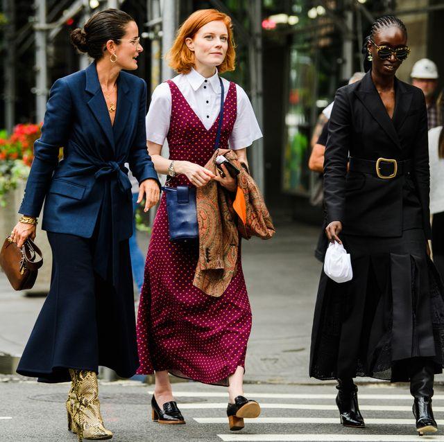 Street Fashion 2020.Street Style New York Fashion Week Spring 2020
