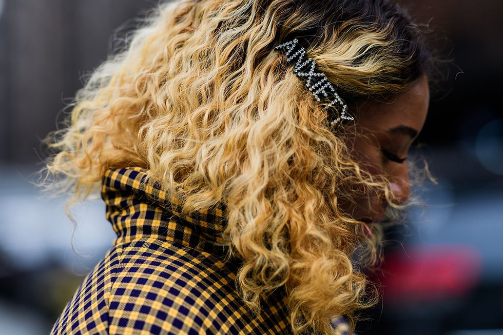 Barrettes Are Everywhere at New York Fashion Week