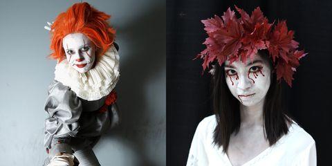 Head, Fashion, Wig, Headpiece, Headgear, Costume, Mask, Clown, Fashion accessory, Fictional character,