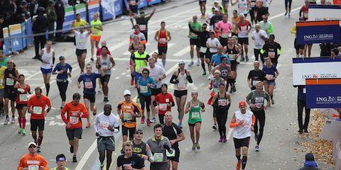 NYC Marathon Runners in 2013