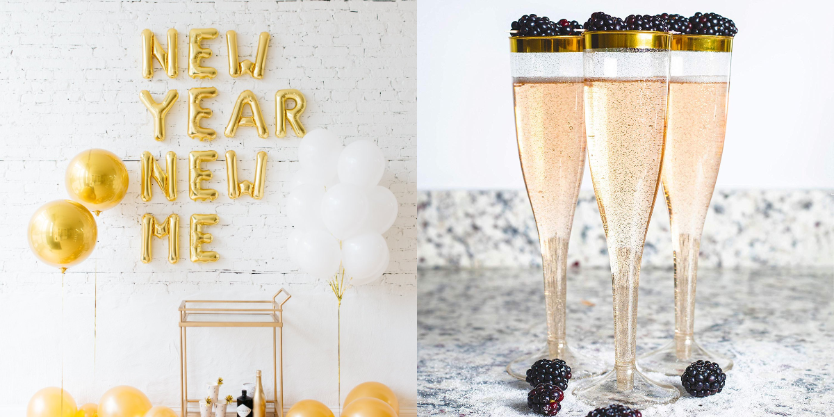 15 New Year's Eve Decorations To Help You Ring In 2019 In Style