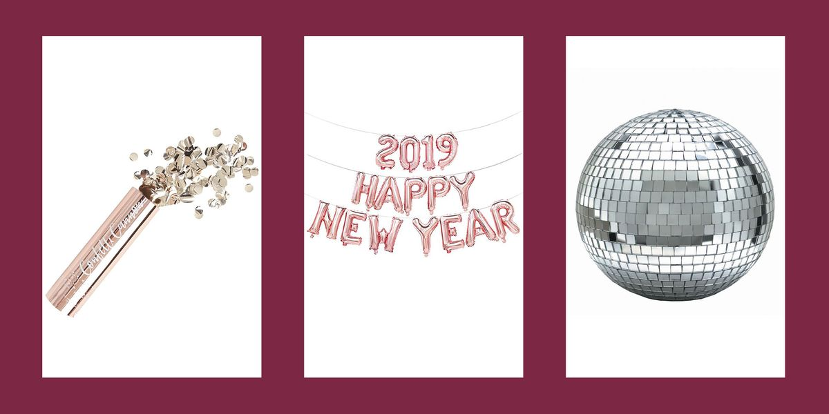20 Best New Year's Eve Party Decorations for a Dazzling 2019