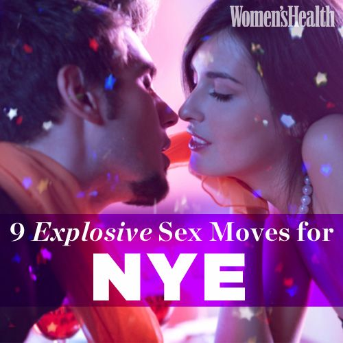 9 Explosive Sex Moves for NYE