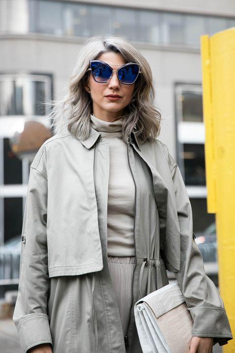 Clothing, Eyewear, Vision care, Glasses, Sleeve, Sunglasses, Textile, Outerwear, Style, Street fashion,