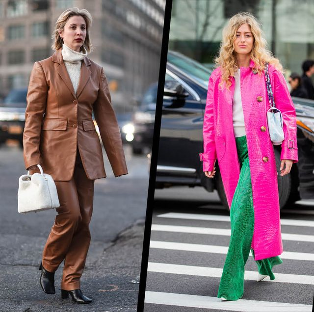 Pink, Street fashion, Clothing, Fashion, Footwear, Outerwear, Shoe, Blazer, Magenta, Jeans,