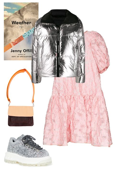 Sleeve, Textile, White, Jacket, Pattern, Pink, Style, Fashion, Natural material, Bag,