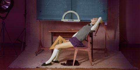 Furniture, Chair, Sitting, Leg, Room, Art,