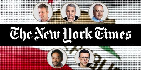 new york times writers
