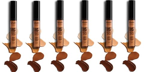 nyx cant stop wont stop concealer