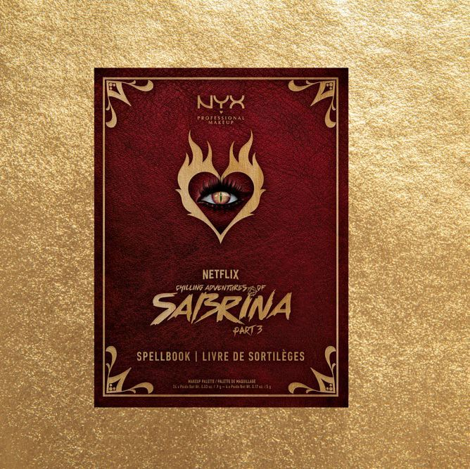 The NYX Professional Makeup x Chilling Adventures of Sabrina collection is here