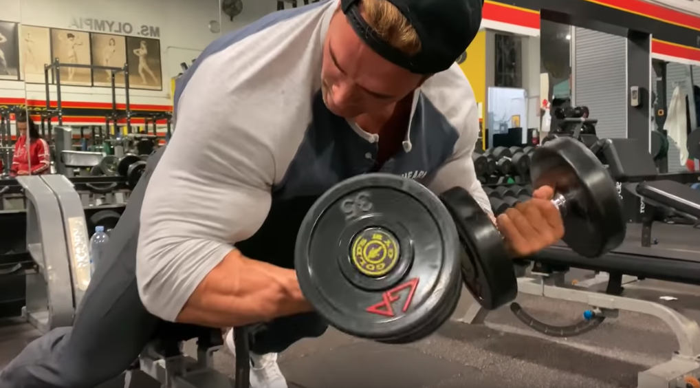 Watch Mr. Universe Mike O'Hearn's Biceps and Triceps Workout