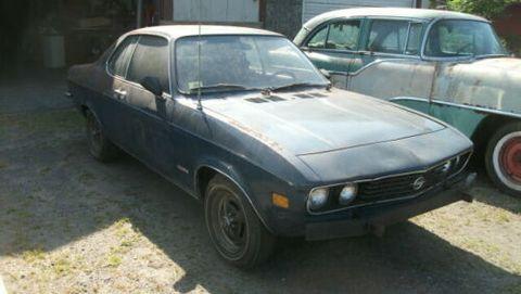Land vehicle, Vehicle, Car, Coupé, Sedan, Classic car, Sports car, Opel manta, Hood, Hardtop,