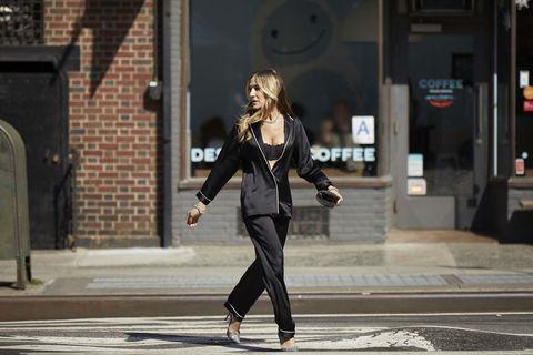 Photograph, Standing, Snapshot, Fashion, Urban area, Beauty, Street, Street fashion, Pedestrian, Road,