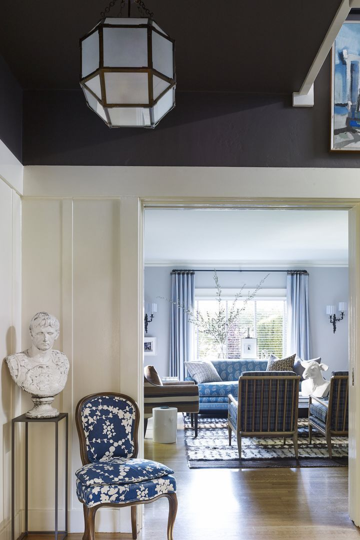 Living Room Ceiling Design Director: Oakland House Tour