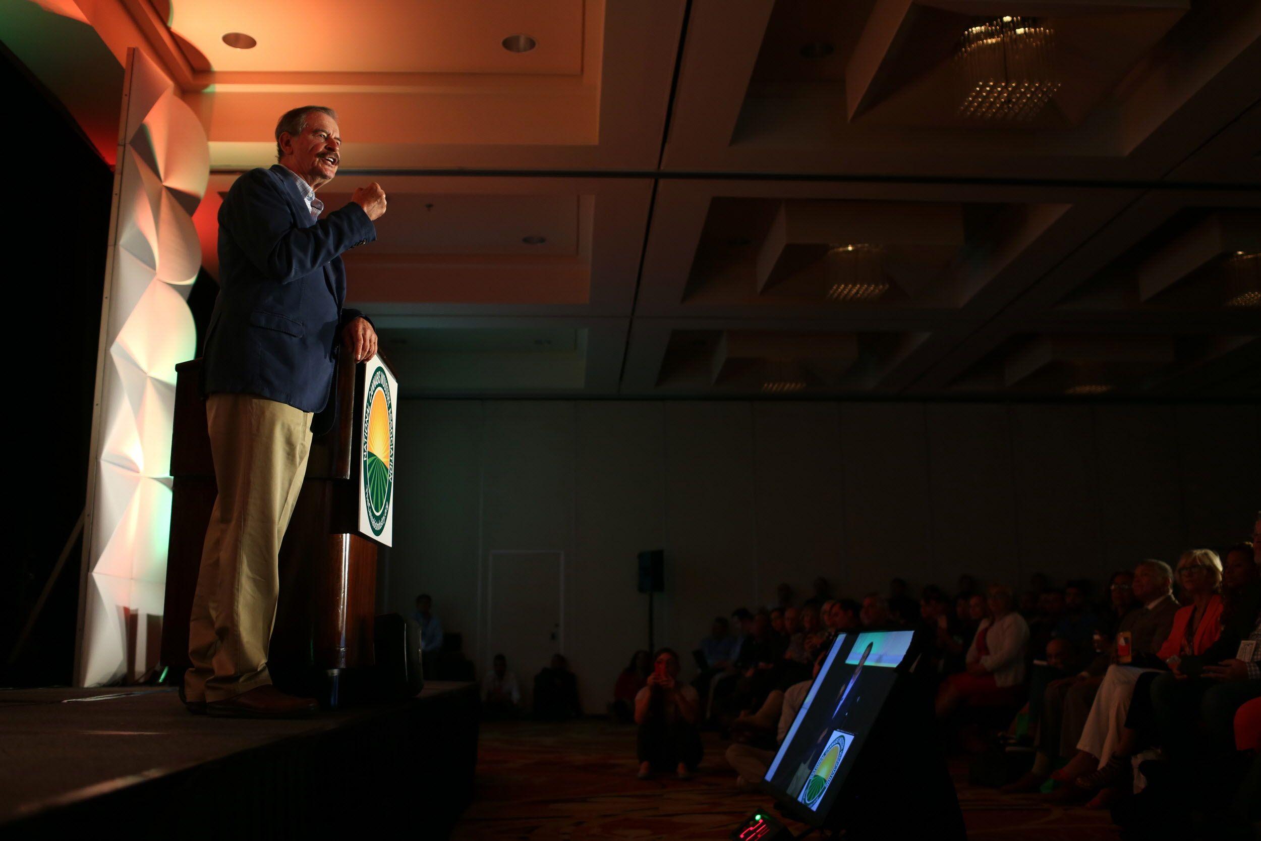 Vicente Fox NCIA Oakland keynote
