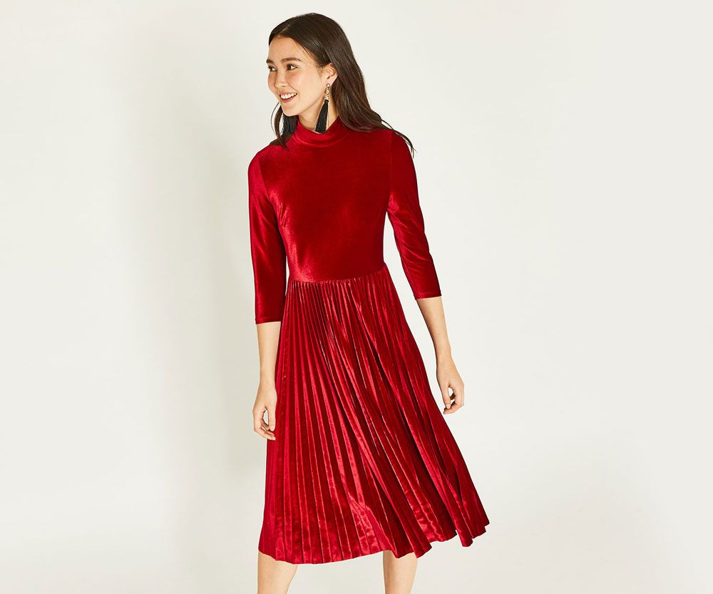 Oasis - Evening party dress with sleeves