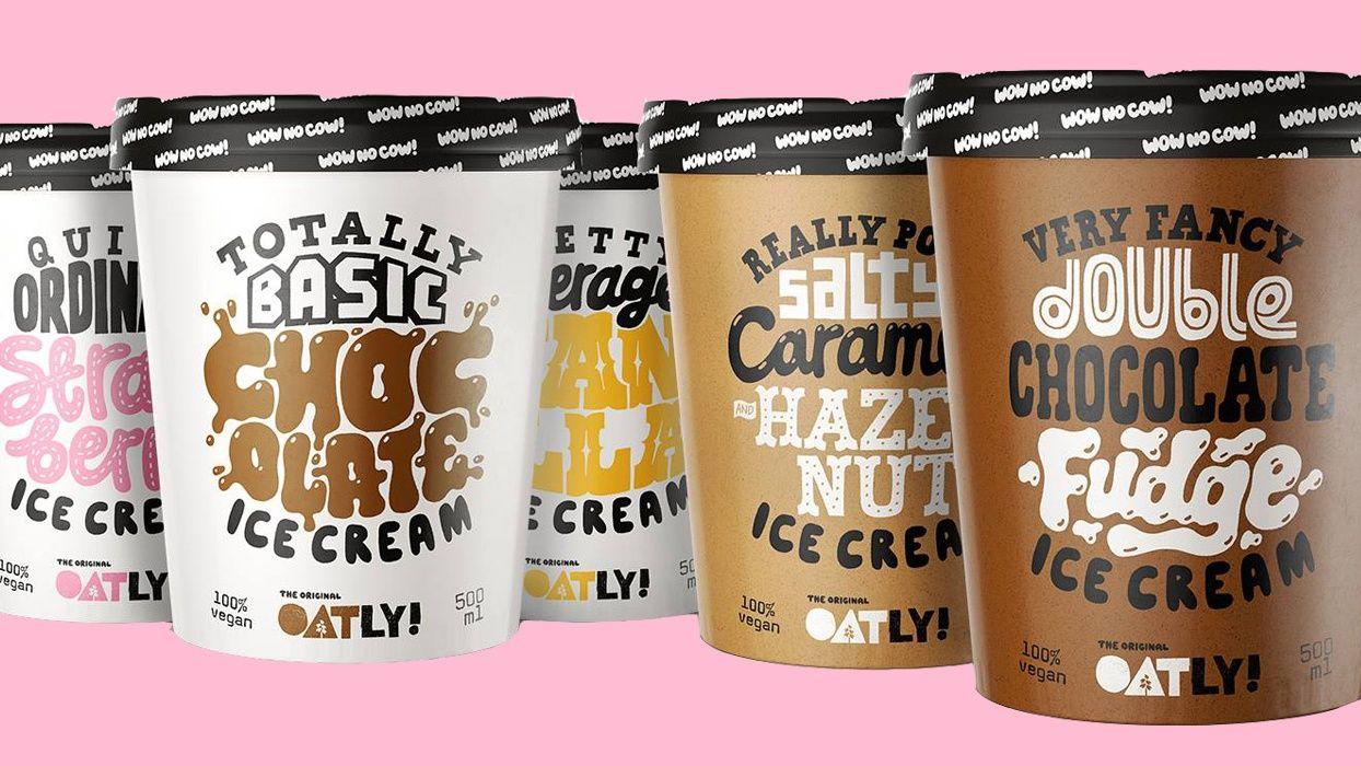 Oatly's Vegan Ice Cream Is Due to Launch in the UK at the End of October