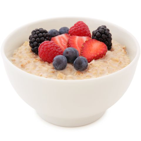 Oatmeal and Berries Bowl
