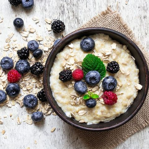 Dish, Food, Cuisine, Porridge, Superfood, Berry, Ingredient, Oat, Breakfast, Steel-cut oats,
