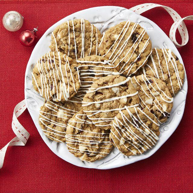 oatmeal cherry slice and bake cookies