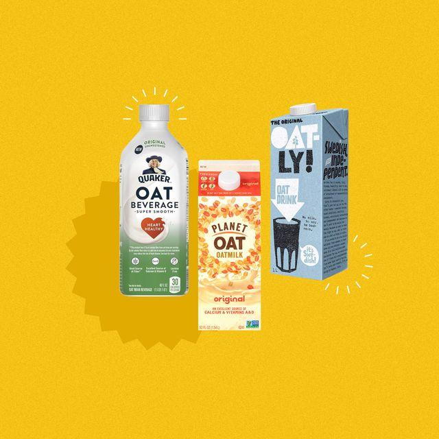oat milk photo collage