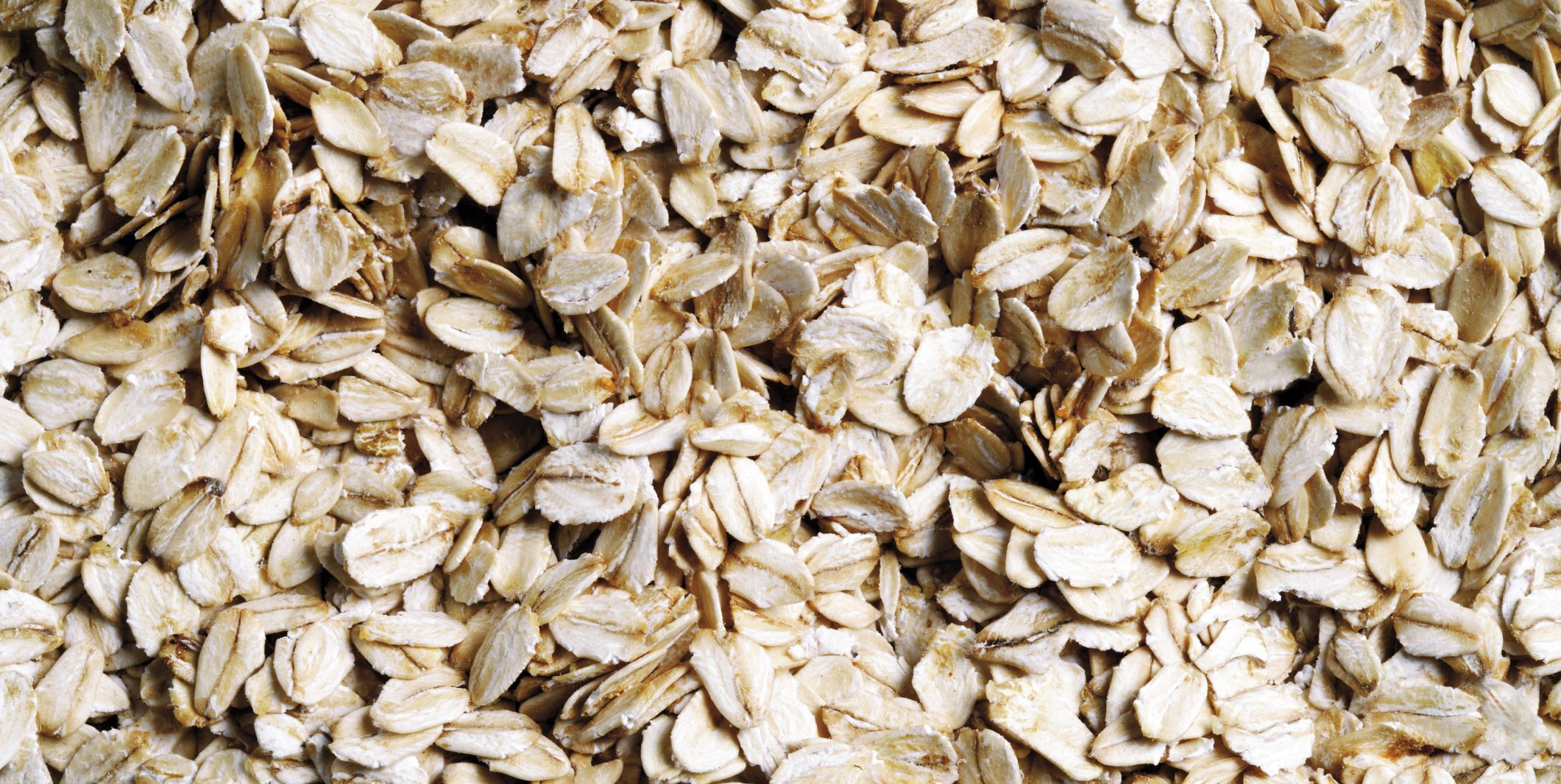 Dry uncooked oats