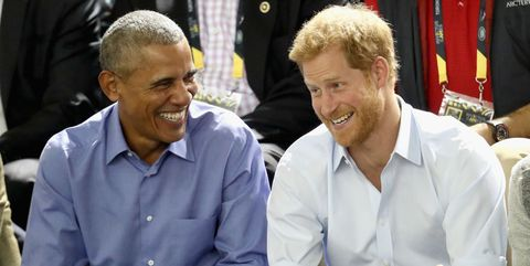Barack Obama interview with Prince Harry