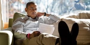 President Obama Meets Advisors At Camp David
