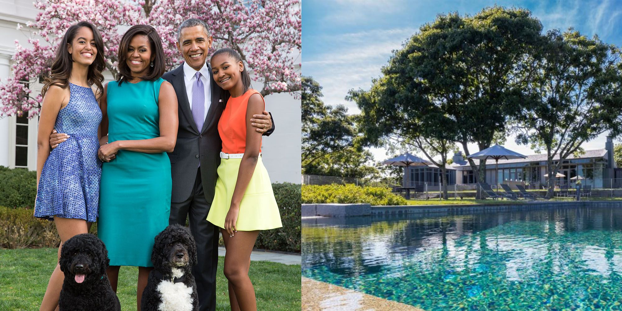 The Obamas' Martha's Vineyard Vacation Home Just Sold for $15 Million