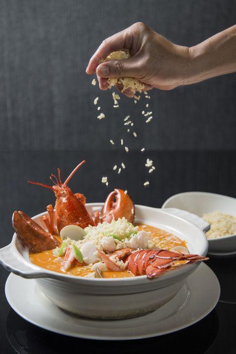 台南晶英龍蝦泡飯