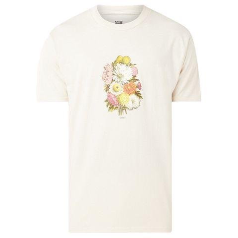 obey t shirt met bloemenprint