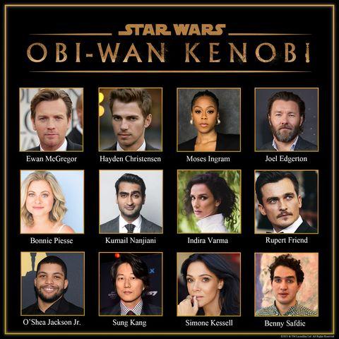 cast of series about obi wan kenobi