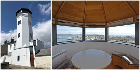 Observation Tower Falmouth Cornwall Outside Onthemarket