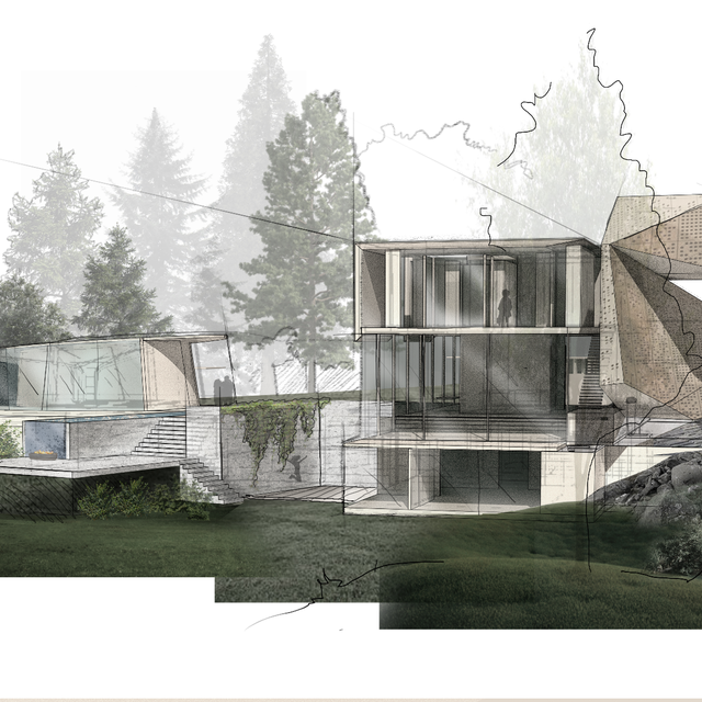 badg obsidian virtual concept house