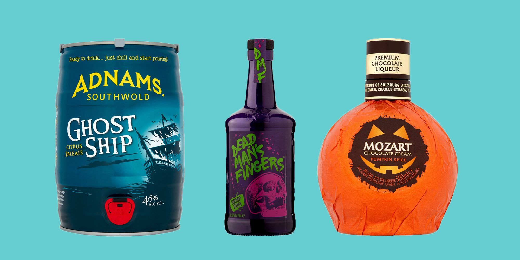 Ocado Has Launched A Halloween Booze Line To Make All Your Halloween Party Dreams Come True