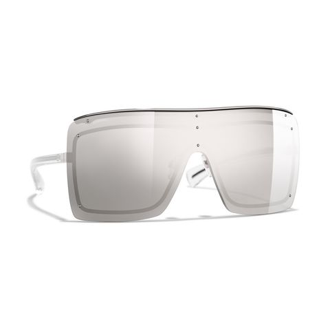 Eyewear, Sunglasses, Glasses, White, Personal protective equipment, Goggles, Transparent material, Vision care, Material property, aviator sunglass,