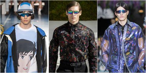 Eyewear, Glasses, Clothing, Fashion, Sunglasses, Cool, Street fashion, Outerwear, Headgear, Jacket,
