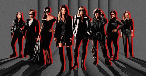 Red, Fashion, Fashion model, Fashion design, Gothic fashion, Fictional character, Costume, Model, Style, Team,