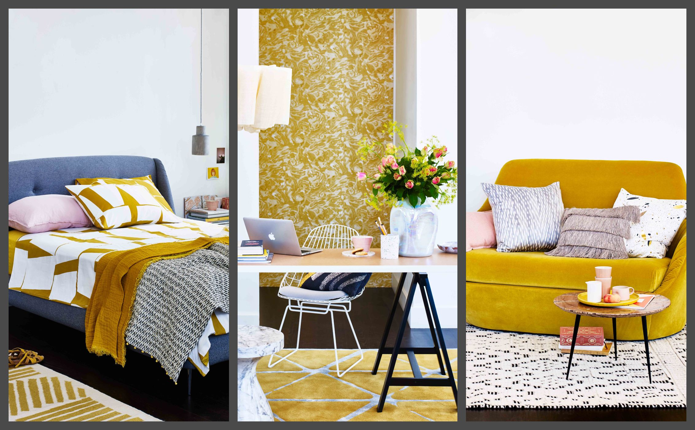 8 Stylish Ways To Introduce Ochre Into A Neutral Room - Room Decor