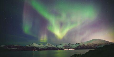 NORWAY-TROMSO-AURORA BOREALIS