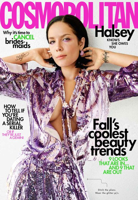 Halsey Interview for Cosmopolitan's October 2019 Issue
