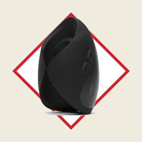 Red, Helmet, Audio equipment, Technology, Electronic device, Personal protective equipment,