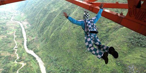 Skydiving International Invitational Tournament In Guizhou, China
